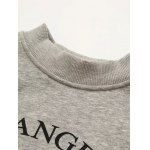 Loose Letter Cropped Sweatshirt deal