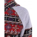 Front Pocket Pullover Jacquard Hoodie deal