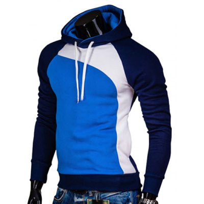 IZZUMI Raglan Sleeve Paneled Pullover HoodieMens Hoodies &amp; Sweatshirts<br>IZZUMI Raglan Sleeve Paneled Pullover Hoodie<br><br>Material: Cotton,Polyester<br>Clothing Length: Regular<br>Sleeve Length: Full<br>Style: Casual<br>Weight: 0.354kg<br>Package Contents: 1 x Hoodie