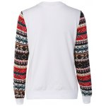 cheap Festival Sequins Embroidery Christmas Graphic Sweatshirt