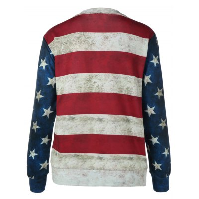 Striped Star Print Patchwork SweatshirtSweatshirts &amp; Hoodies<br>Striped Star Print Patchwork Sweatshirt<br><br>Material: Polyester<br>Clothing Length: Regular<br>Sleeve Length: Full<br>Style: Fashion<br>Pattern Style: Striped<br>Season: Fall,Spring<br>Weight: 0.322kg<br>Package Contents: 1 x Sweatshirt