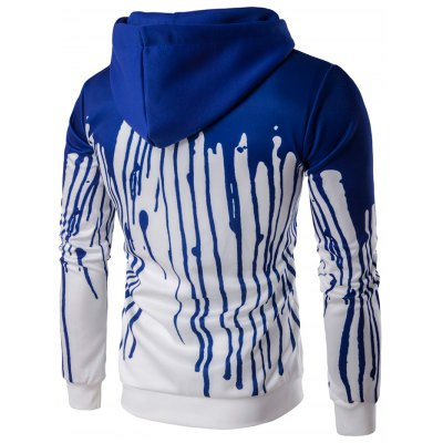 Splatter Print Pullover HoodieMens Hoodies &amp; Sweatshirts<br>Splatter Print Pullover Hoodie<br><br>Clothing Length: Regular<br>Material: Cotton Blends<br>Package Contents: 1 x Hoodie<br>Sleeve Length: Full<br>Style: Casual<br>Weight: 0.5850kg