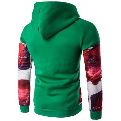 Printed Patchwork Design Pullover HoodieMens Hoodies &amp; Sweatshirts<br>Printed Patchwork Design Pullover Hoodie<br><br>Material: Cotton Blends<br>Clothing Length: Regular<br>Sleeve Length: Full<br>Style: Casual<br>Weight: 0.500kg<br>Package Contents: 1 x Hoodie