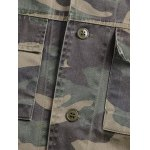 Camouflage Loose Field Jacket photo