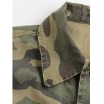 Camouflage Loose Field Jacket for sale