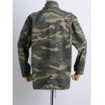 Camouflage Loose Field Jacket deal