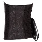cheap Jacquard Buckle Lace-Up Corset