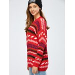 Warm Christmas Geometry Sweater for sale