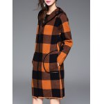 Checked Hooded Cashmere Coat deal