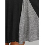 best Spliced Fit and Flare Dress