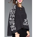 Linellae Embroidered Furcal Asymmetric Knitwear deal