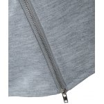 best String Cropped Zippered Hoodie