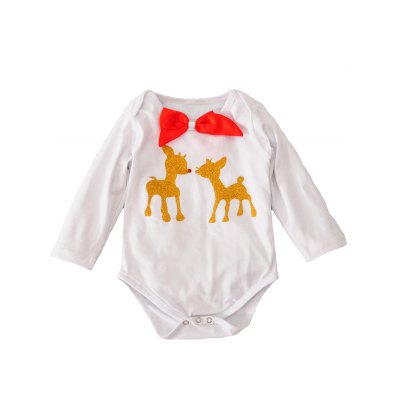 Toddler Infant Newborn Christmas Long Sleeve Bodysuit Romper + Polka Dot StockingsGirls Clothing<br>Toddler Infant Newborn Christmas Long Sleeve Bodysuit Romper + Polka Dot Stockings<br><br>Type: Pajamas sets<br>Material: Cotton Blend<br>Neckline: Round Collar<br>Sleeve Length: Long Sleeves<br>Embellishment: Bowknot<br>Pattern Type: Character<br>Season: Fall,Spring,Summer<br>Weight: 0.150kg<br>Package Contents: 1 x Romper  1 x Stockings
