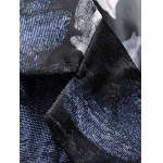 Notch Lapel Single Breasted Floral Jacquard Blazer deal
