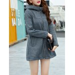 Zipped Hooded Coat for sale