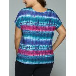 Plus Size Tie-Dye T-Shirt for sale
