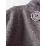 Hooded Fleece Double-Breasted Coat deal