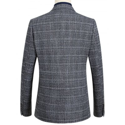 Notch Lapel Single Breasted Tartan BlazerMens Blazers<br>Notch Lapel Single Breasted Tartan Blazer<br><br>Material: Polyester<br>Clothing Length: Regular<br>Sleeve Length: Long Sleeves<br>Closure Type: Single Breasted<br>Weight: 0.650kg<br>Package Contents: 1 x Blazer