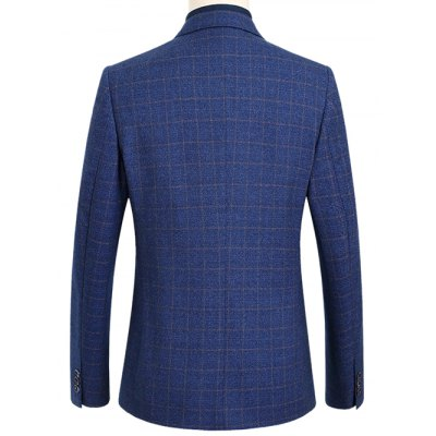 Single Breasted Notch Lapel Gird Pattern BlazerMens Blazers<br>Single Breasted Notch Lapel Gird Pattern Blazer<br><br>Material: Polyester<br>Clothing Length: Regular<br>Sleeve Length: Long Sleeves<br>Closure Type: Single Breasted<br>Weight: 0.650kg<br>Package Contents: 1 x Blazer