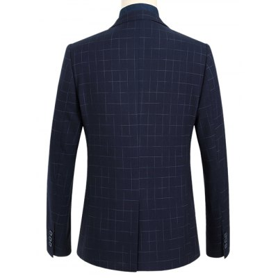 Flap Pocket Notch Lapel Dotted Grid One-Button BlazerMens Blazers<br>Flap Pocket Notch Lapel Dotted Grid One-Button Blazer<br><br>Material: Polyester<br>Clothing Length: Regular<br>Sleeve Length: Long Sleeves<br>Closure Type: Single Breasted<br>Weight: 0.700kg<br>Package Contents: 1 x Blazer