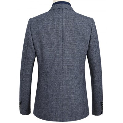 Notch Lapel Sleeve Buttons Single Breasted Texture BlazerMens Blazers<br>Notch Lapel Sleeve Buttons Single Breasted Texture Blazer<br><br>Material: Polyester<br>Clothing Length: Regular<br>Sleeve Length: Long Sleeves<br>Closure Type: Single Breasted<br>Weight: 0.700kg<br>Package Contents: 1 x Blazer