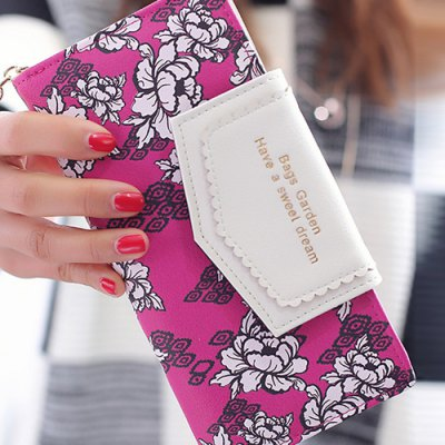 Flower Print Tassels Clutch WalletWomens Wallets<br>Flower Print Tassels Clutch Wallet<br><br>Wallets Type: Clutch Wallets<br>Gender: For Women<br>Style: Casual<br>Closure Type: Zipper<br>Pattern Type: Floral<br>Main Material: PU<br>Length: 19CM<br>Width: 3CM<br>Height: 9.5CM<br>Weight: 0.189kg<br>Package Contents: 1 x Wallet