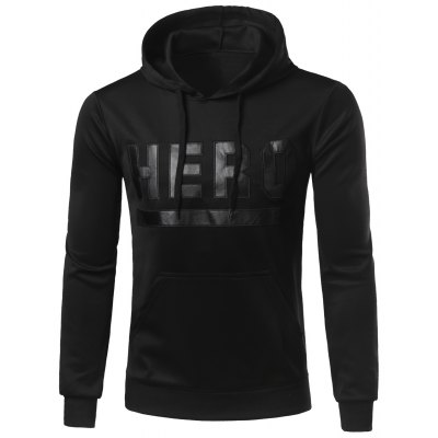 Hooded Stand Collar Hoodie