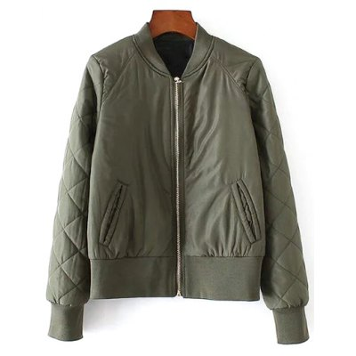 Stand Neck Padded Jacket