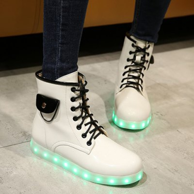 Lights Up Led Luminous Ankle Boots