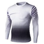Buy Slim-Fit Quick-Dry Long Sleeve Ombre T-Shirt L