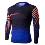 Buy Slim-Fit Quick-Dry Long Sleeve Ombre T-Shirt 2XL