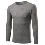 Crew Neck Simple Long Sleeve Sweater
