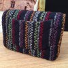 Colored Knitting Checked Crossbody Bag deal