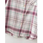 Checked Pocket Casual Shirt for sale