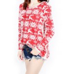 Christmas Jacquard Loose Sweater deal