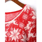 best Christmas Jacquard Loose Sweater