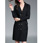 Striped Double-Breasted Coat deal