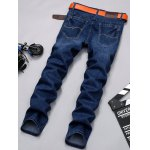 Slim-Fit Zip-Fly Straight Leg Jagger Jeans photo