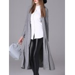 Duster Collarless Cotton Coat deal