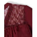 Lace Patchwork Smock Peasant Blouse for sale