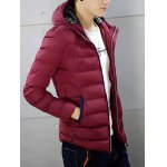 Zip-Up Hooded Padded Jacket deal