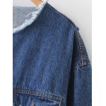 Patched Ripped Denim Jacket deal