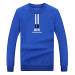 Rib Cuff Crew Neck Graphic Sweatshirt