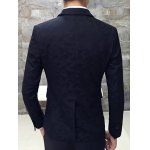 cheap Lapel Single Breasted Camouflage Blazer