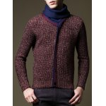 cheap Roll Neck Button Embellished Pullover Sweater