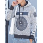 cheap Pullover Graphic Printed Hoodie