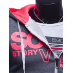 Graphic Print Hooded Long Sleeve Zip-Up Hoodie deal