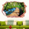 best 3D Stereo Nature Landscape Removable Wall Decals