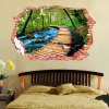 3D Stereo Nature Landscape Removable Wall Decals deal