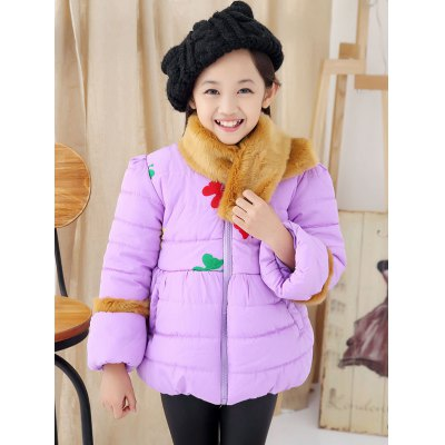 girls-butterfly-embroidered-bowknot-padded-jacket